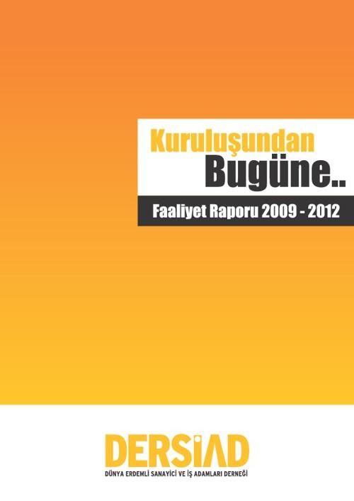 Dersiad Faaliyet Raporu 2009-2012