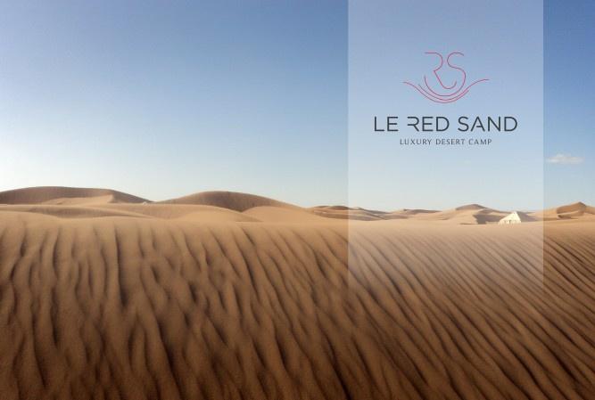 Le Red Sand - Luxury Desert Camp brochure