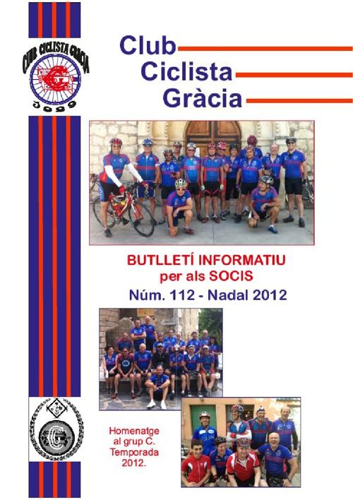 Butlletí 112 - Nadal 2012