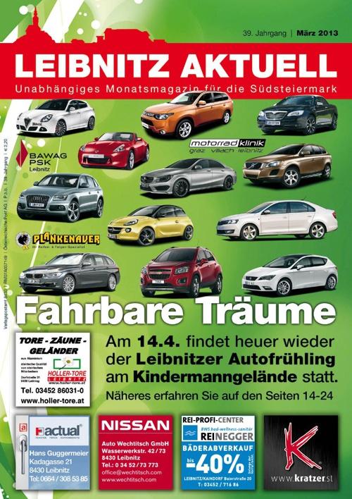 Leibnitz Aktuell - Ausgabe März