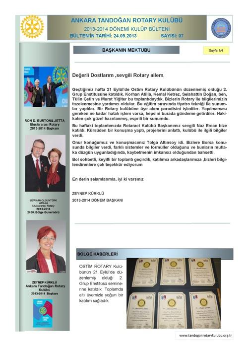 Tandogan Rotary Bülten-07