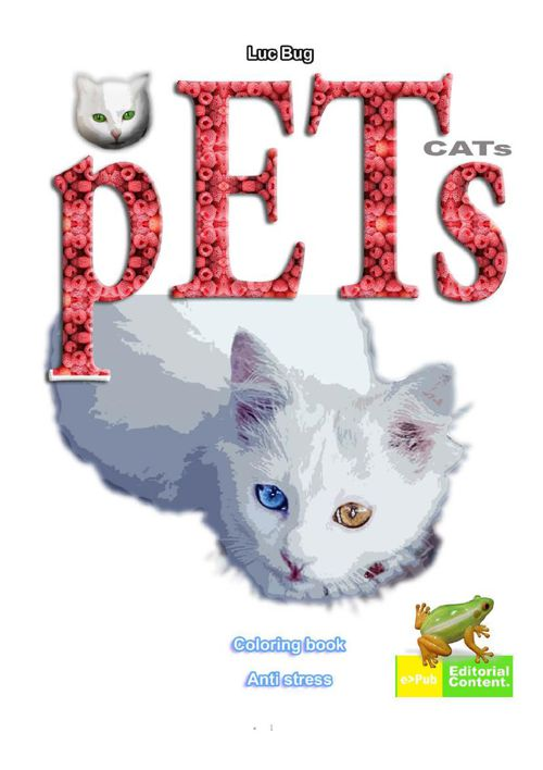 PETS CATs coloring book - Amazon - http://www.amazon.com/gp/prod