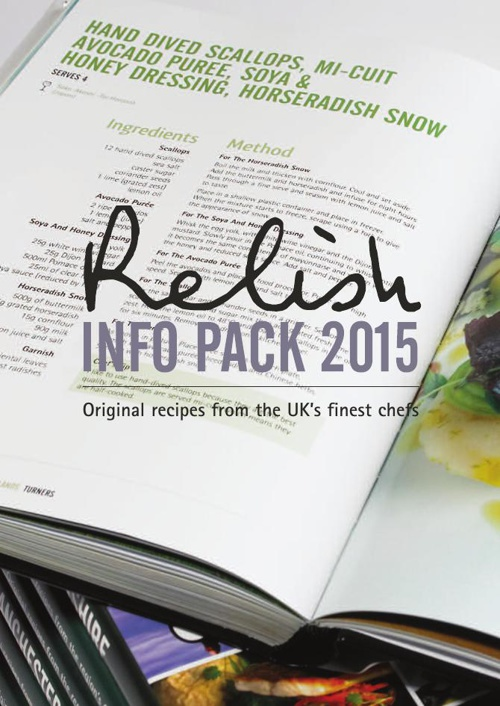 Relish Information Pack & Optional Extra's