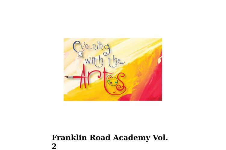 FRA Evening with the Arts Vol. 2