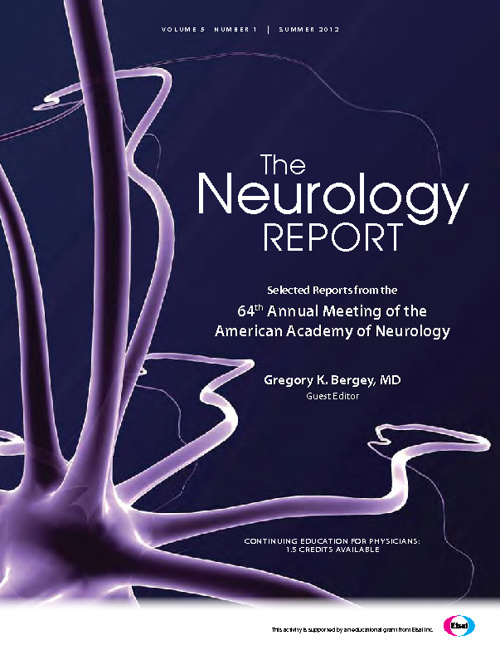 The Neurology Report (Epilepsy Edition)