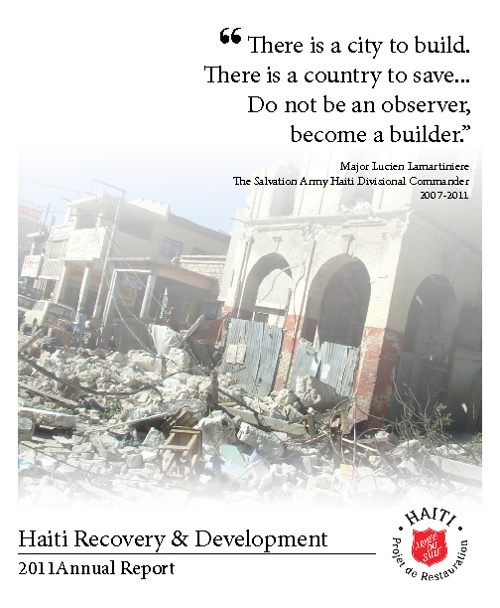 Haiti Recovery & Development 2011 Annual Report