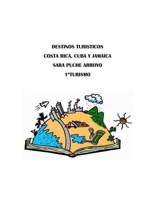 Copy of RECURSOS TURISTICOS DESTINOS