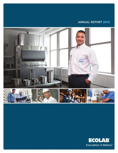 Ecolab2013AnnualReport