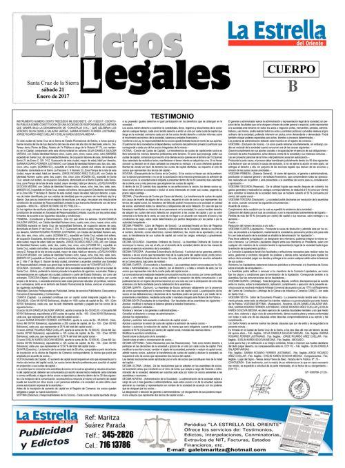 Judiciales 21 sábado - enero 2017