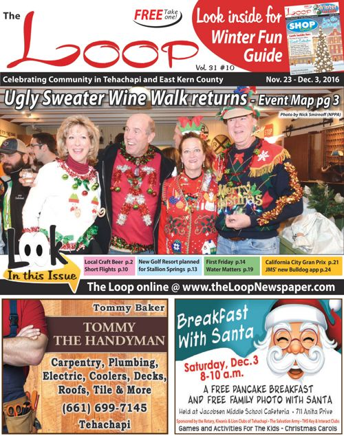The Loop Newspaper - Vol 31 No 10 - Nov 23 to Dec, 2016