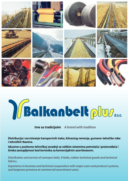Katalog Balkan Belt Plus