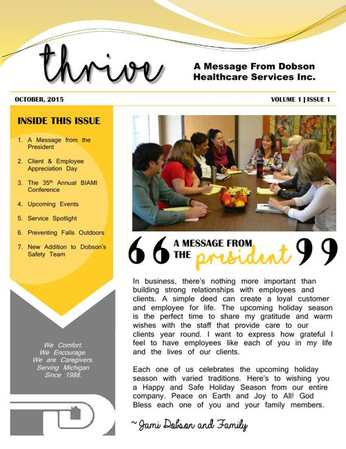 Thrive October 2015