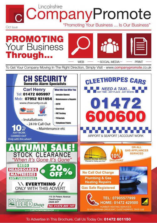 Company Promote - October Issue
