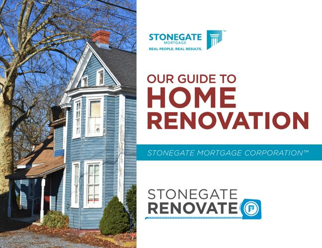 Stonegate Renovate - Our Guide to Home Renovation