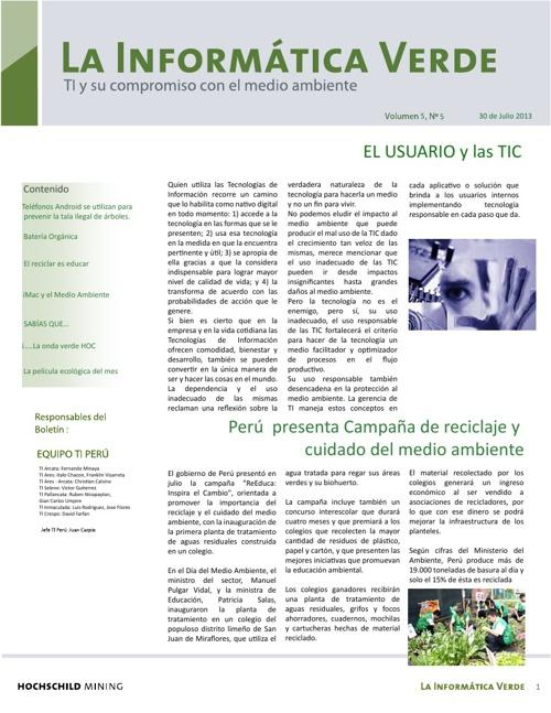 La Informática Verde