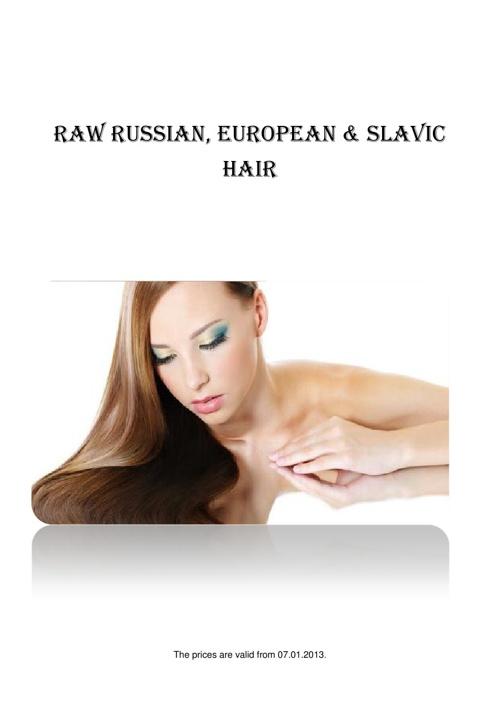 Russian Hair Store Catalogue 2013