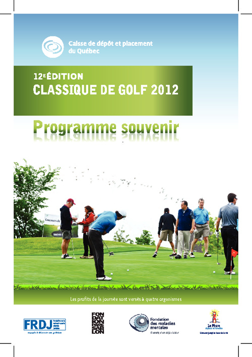 Programme souvenir Classique CDP 2012
