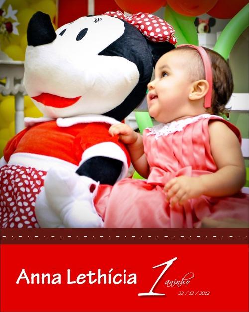 Álbum de Anna Lethícia 1 Aninho