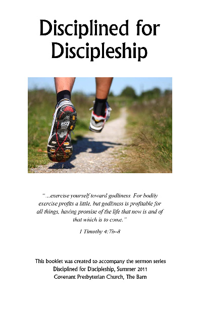 Disciplined for Discipleship