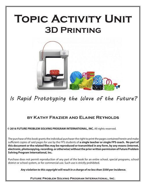 2016-17 TAU 3D Printing