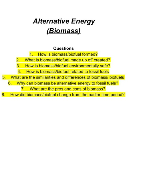Biomass by Varshini Sadhana,and Ankitha