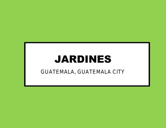 JARDINES  8
