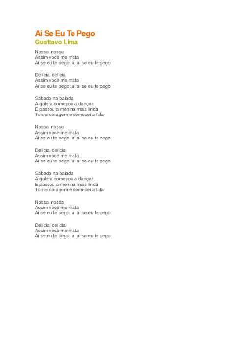 Letras de Musica