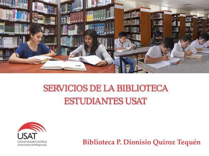 Servicios de Biblioteca: Estudiantes
