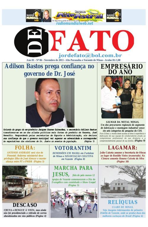 Jornal De Fato 06ª Edição