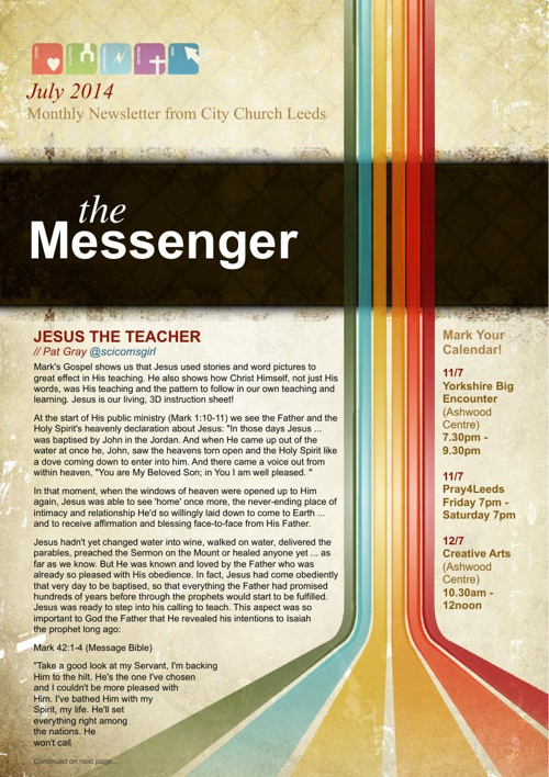 The Messenger - July 2014