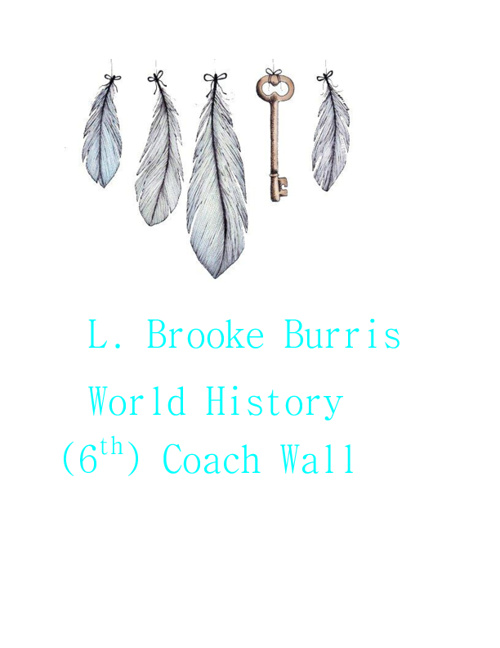 Copy of Copy of Copy (2) of Brooke Burris 6th World History