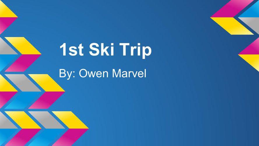 1st ski trip (2)