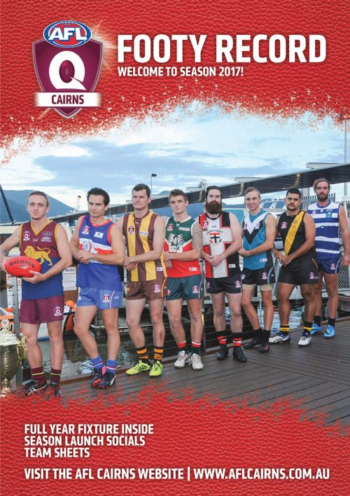 AFL Cairns Footy Record Season 2017