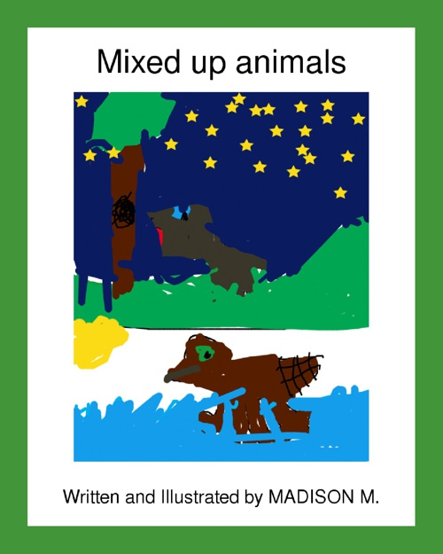 My Mixed-Up Animal by Madison