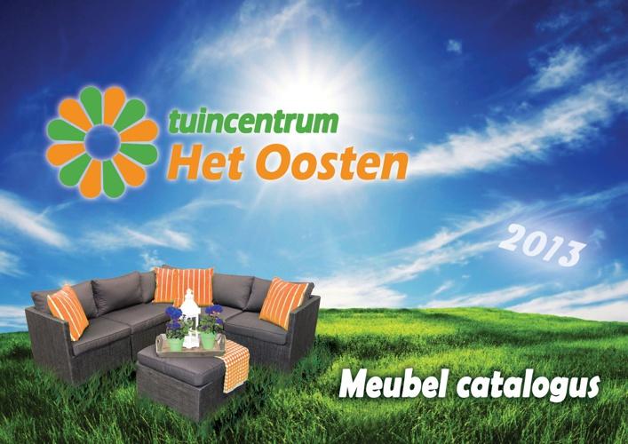 Tuinmeubelcatalogus 2013 tuincentrum Het Oosten Aalsmeer