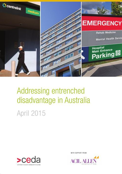 Addressing entrenched disadvantage in Australia