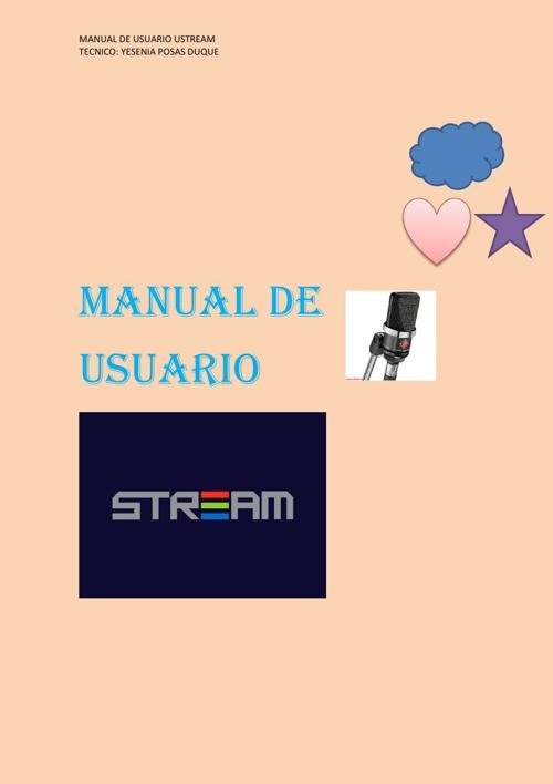 manual de emisora ustream