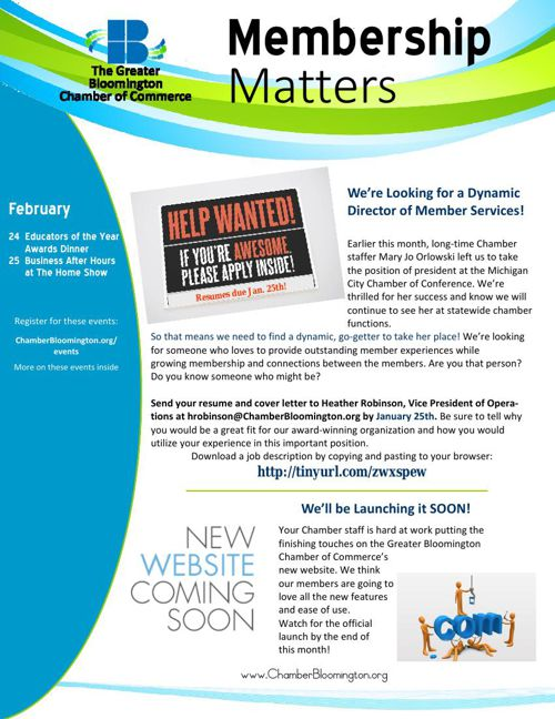 Starting the year with Membership Matters -
