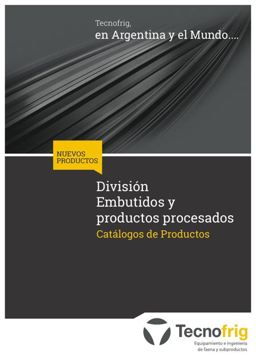 Catalogo Embutidos -  Tecnofrig SRL