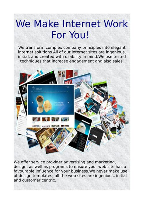 We Make Internet Work For You