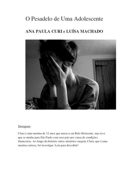 PESADELO DE UMA ADOLESCENTE