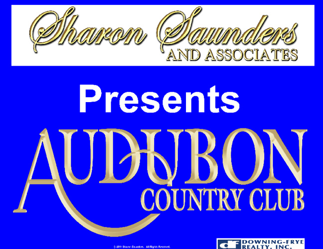 Sharon Saunders' Audubon CC Homes For Sale (Naples, FL.)