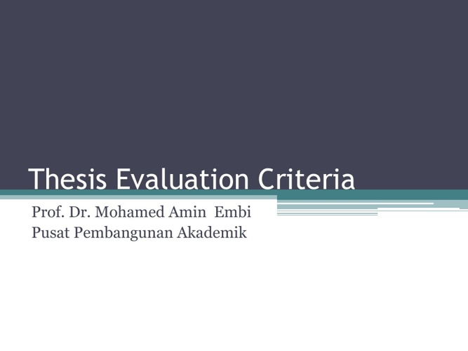 evaluation doctoral thesis Samples toll free: live chat login home evaluation of a creative curriculum in preschool literacy readiness my thesis was of excellent quality.