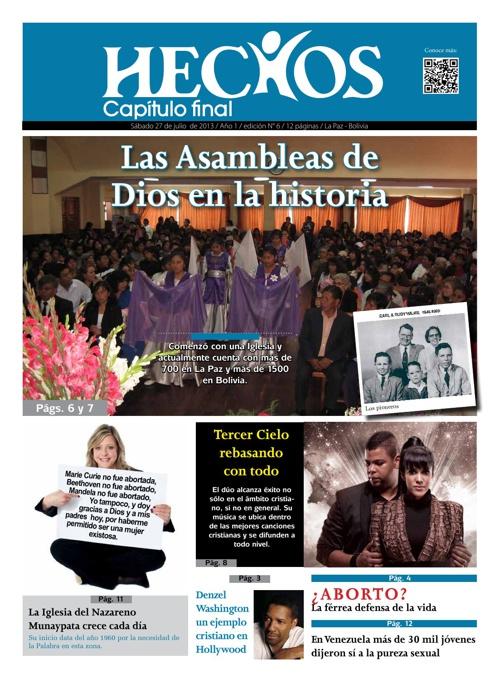 Periodico Hechos Nro. 6