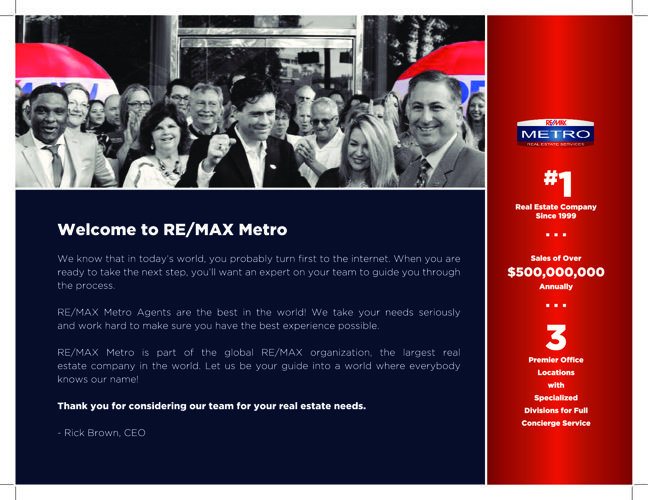 Selling Your Home with RE/MAX Metro
