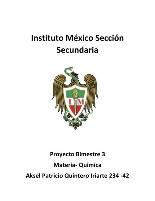 Proyecto Quimica 234-42