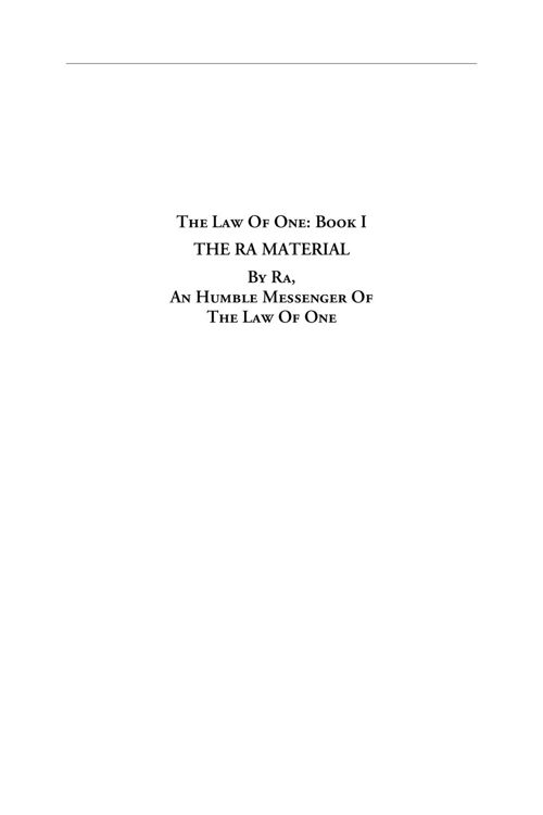 the_law_of_one_book_1
