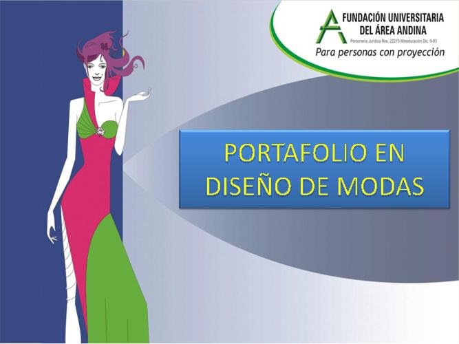 PORTAFOLIO DE MODAS