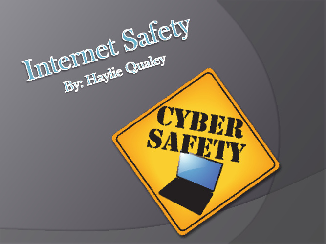 G8 Internet Safety Haylie Qualey