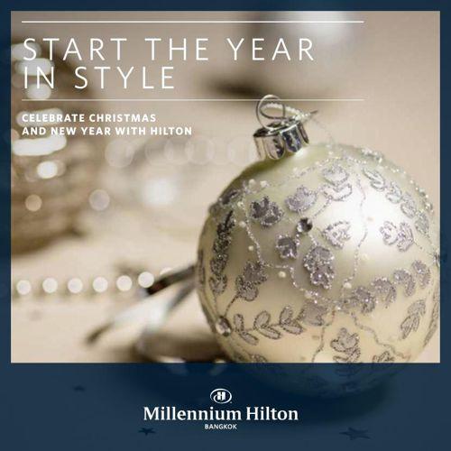 Start the year instyle @ Millennium HIlton Bangkok